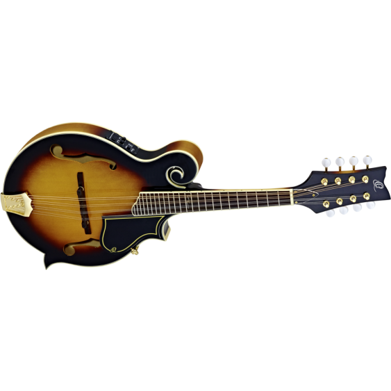 Ortega Guitars RMFE90TS F-Style Mandolin with Solid Spruce Top   - Blem #XZ149
