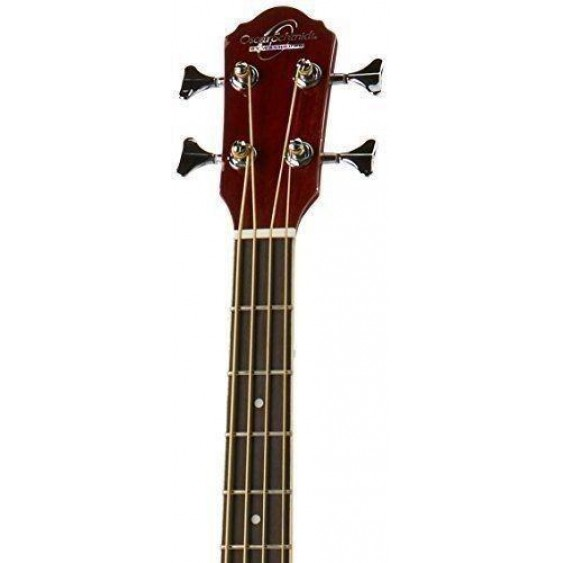 Oscar Schmidt OB100N Acoustic Electric Bass with Gig Bag in a NATURAL Finish