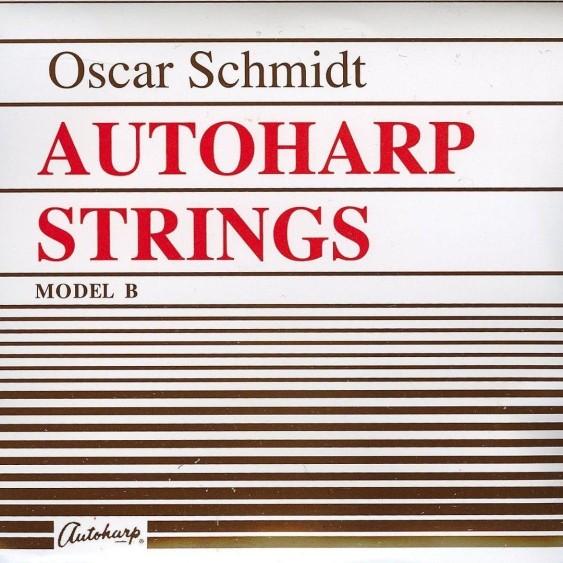 Oscar Schmidt Model ASB Type B Autoharp Strings - Full sealed set of 36 Strings