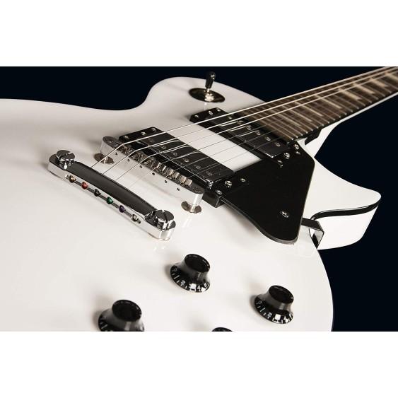 Oscar Schmidt OE20WH White Single Cutaway Standard Electric Guitar -DEMO