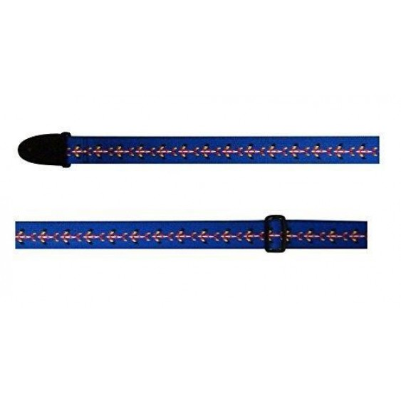 """2"""" Adjustable Cotton Guitar Strap From Perri's Leathers-Made in Canada CWS20-438"""