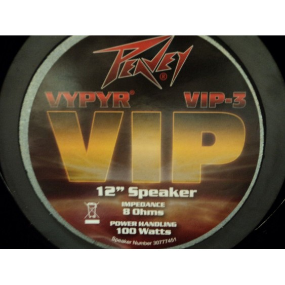 Peavey  Vypyr® VIP 3 100 Watt Electric, Bass or Acoustic Guitar Combo Amp -#N179