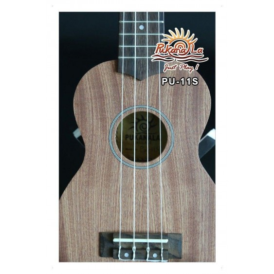 PukanaLa Model PU11S Soprano Ukulele with Mahogany Top, Back and Sides -Blem P23