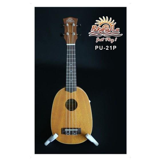 PukanaLa Model PU21P Pineapple Ukulele - Mahogany Top, Back and Sides - Blem P6