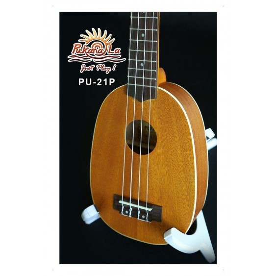 PukanaLa Model PU21P Pineapple Ukulele - Mahogany Top, Back and Sides - Blem P33