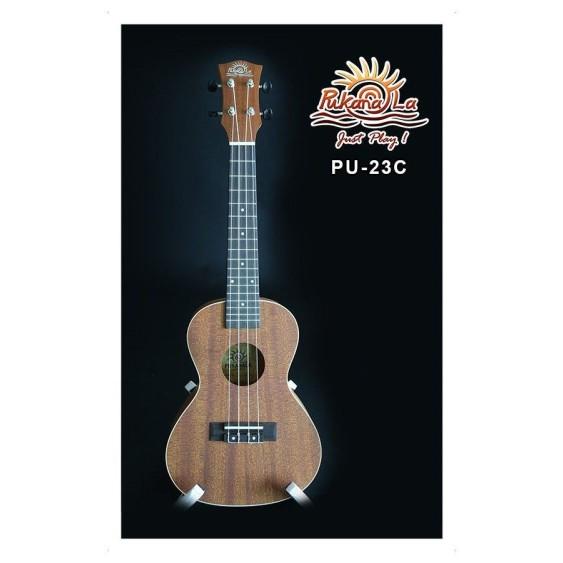 PukanaLa Model PU23C Concert Ukulele with Mahogany Top, Back and Sides -Blem P35