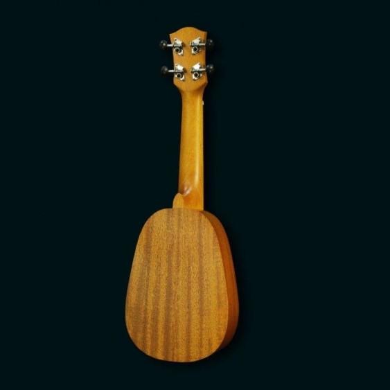 PukanaLa Model PU11P Pineapple Ukulele - Mahogany Top, Back and Sides - Blem P34
