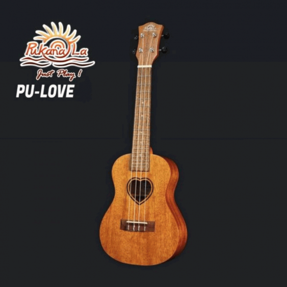 PukanaLa Model LOVE-C Concert Ukulele - Mahogany Top, Back and Sides - Blem P31