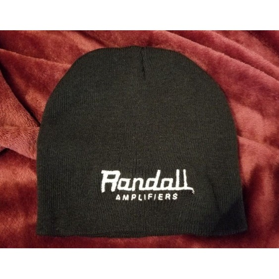 Randall Amplifiers Black Beanie Stocking Cap Straight from Randall