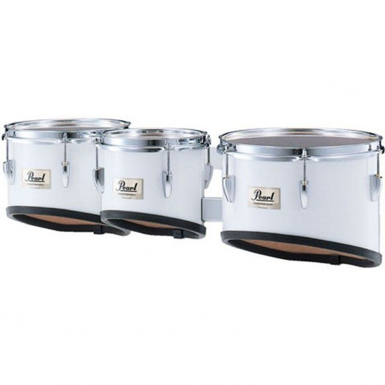 Pearl Competitor CMT802N/C Trio Tom Set Pure White - As new in Box