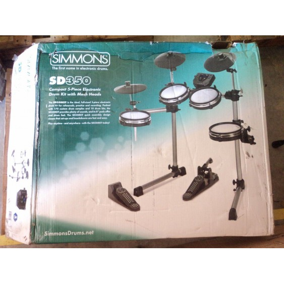 Simmons SD350 Electronic Drum Kit with Mesh Pads - Store Demo #N174