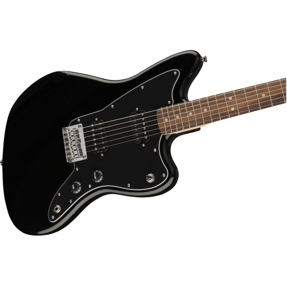 Squier by Fender Affinity Series Jazzmaster HH Black Gloss Electric Guitar