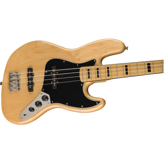 Fender Squier Classic Vibe '70s 4-String Electric Jazz Bass, Gloss Natural -DEMO