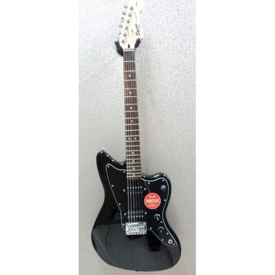 Squier by Fender Affinity Jazzmaster HH Black Electric Guitar - Return #MF43
