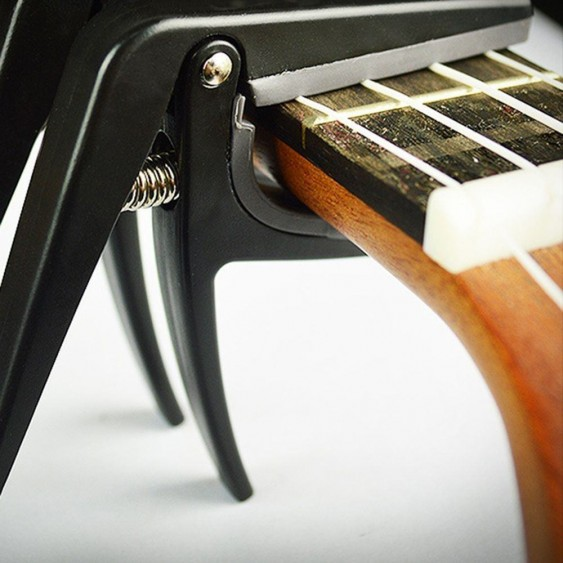 Quick Trigger Capo for Ukulele - Fast Release - Made only for your Uke