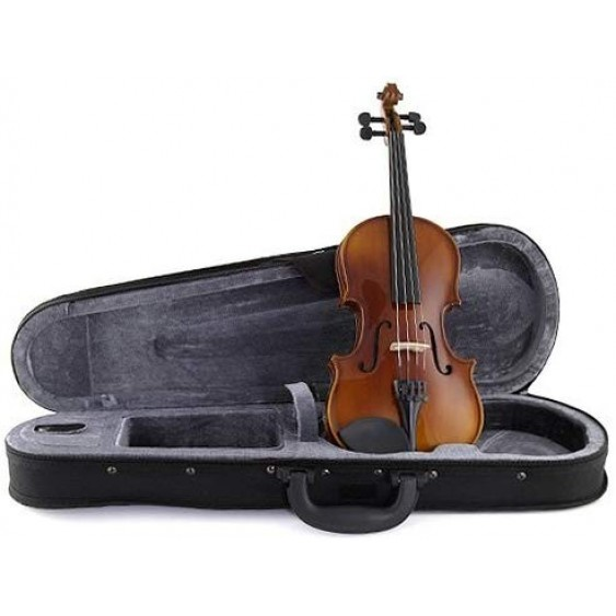 Stagg Model VN-1/4 - 1/4 Size Solid Maple Violin with case, bow and accessories