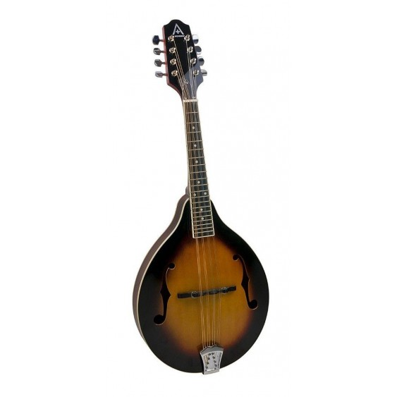 "Hohner Model AAM40-TBS  ""A"" Style Sunburst Finish Bluegrass Mandolin w/Gig Bag"