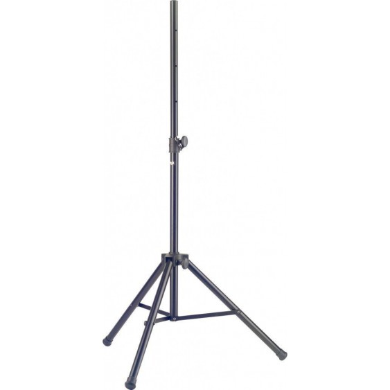 "Stagg SPSA1020BK Heavy Duty Tripod Black Speaker Stand Adjustable 45"" - 71"" Tall"