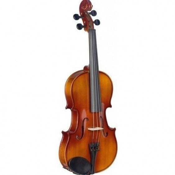 Stagg 3/4 Size Solid Student Violin with Case, Bow, and Rosin Model VL-3/4