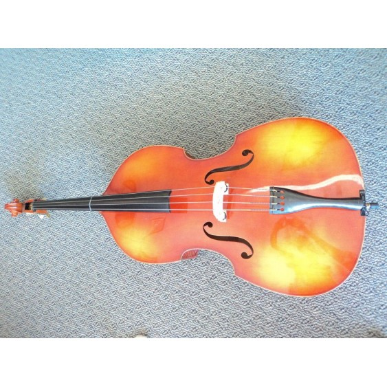 2005 Scherl & Roth , Hermann Beyer 3/4 size Upright Double Bass w/bag & Bow
