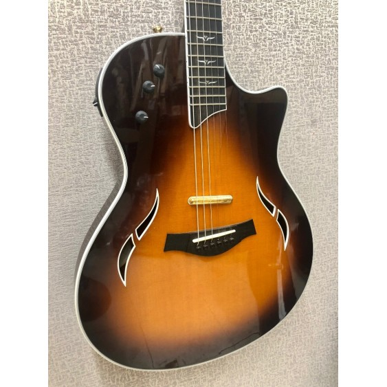2006 Taylor Model T5-C Thinline Acoustic/Electric Guitar in Sunburst with Case