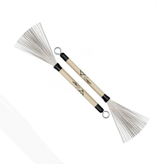 Vater model VWTRW Woody Retractable Wire Brushes - Pair