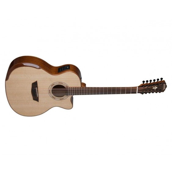 Washburn WCG15SCE12-O 12 String Comfort Series Acoustic Electric Guitar - BLEM