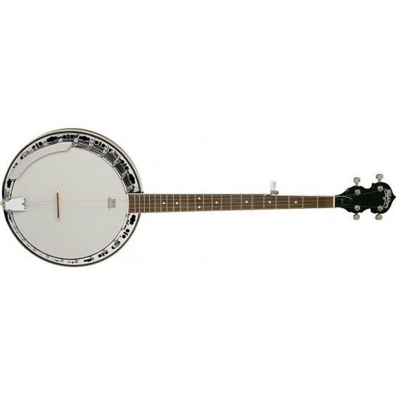 Washburn Americana Series B11K Bluegrass 5-String Banjo with Hardshell Case -BLEM