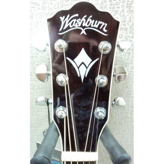 Washburn HD71SCEG-O Solid Cedar Top Dreadnought Acoustic-Electric Guitar -BLEM