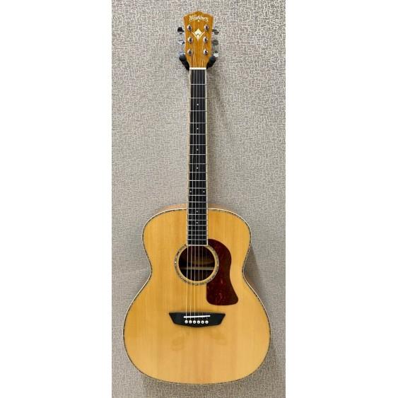 Washburn HG75SEG Grand Auditorium Solid Top Acoustic Electric Guitar