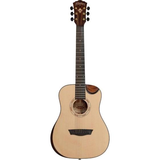 Washburn Comfort Series WCDM15SK 3/4 Size Acoustic Guitar w/Bag - B1 Blem