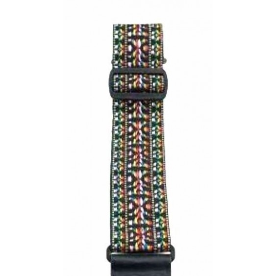 "2"" Hootenanny Guitar Strap From Perri's Leathers - Made in Canada #NWSH-286"
