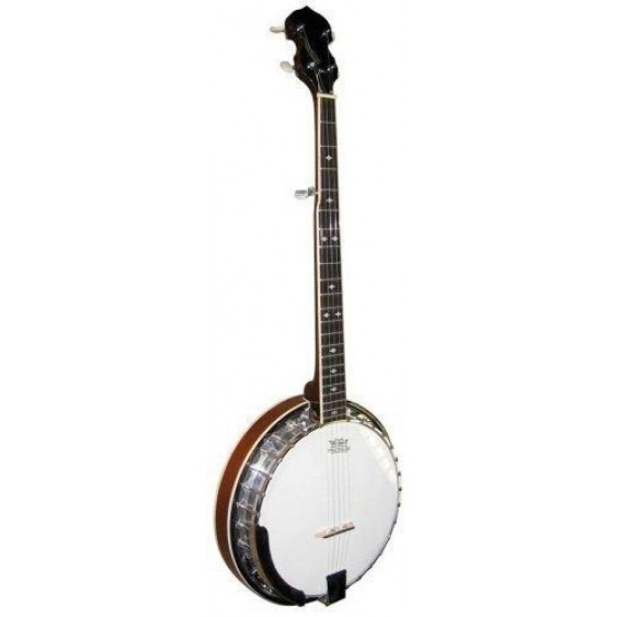 Stagg Deluxe 5 String Bluegrass Banjo W/Resonator & 30 Bracket Hooks #BJM30DL