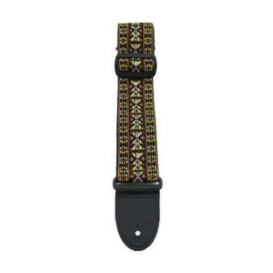 "2"" Deluxe Hootenanny Guitar Strap From Perri's  - Made in Canada #NWSHDX908"