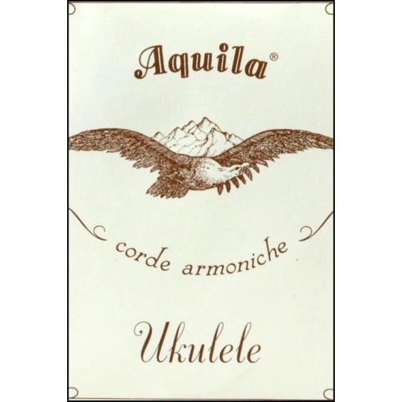 Aquila 4U New Nylgut Strings for Soprano Size Ukulele - Made in Italy