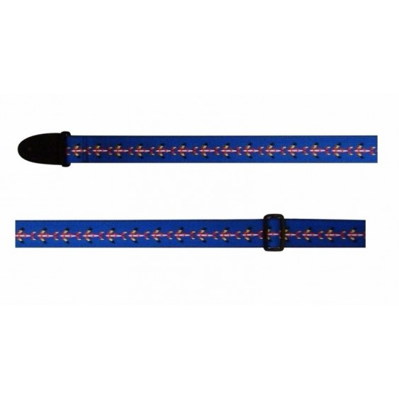 "2"" Adjustable Cotton Guitar Strap From Perri's Leathers-Made in Canada CWS20-438"