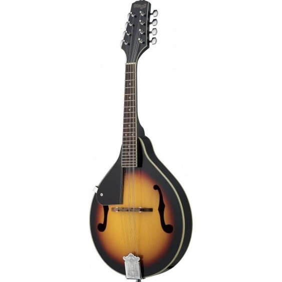 "Stagg Model M20LH Mandolin - Left Handed Basswood ""A"" Style Violinburst Finish"