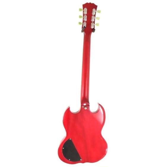 2016 Effin Guitars LessGS/CH Transparent Cherry AC/DC SG  Electric Guitar