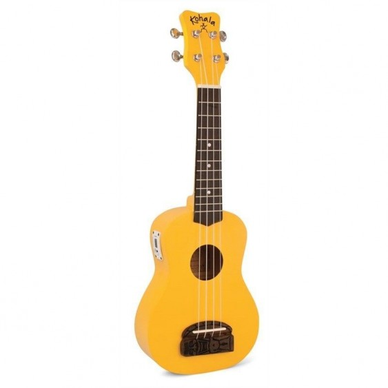 "Kohala ""TIKI"" Soprano Size Ukulele Teacher Or uke Club 10 Pack Bundle - Yellow"