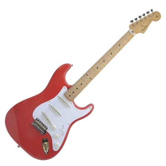 2017 Fender FSR Limited Edition '50s Stratocaster & Tweed Case in Fiesta Red