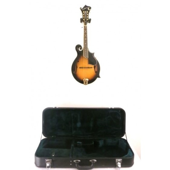 Washburn M3SWK Solid Top, Back, and Sides F-Style Mandolin w/Case - Blem