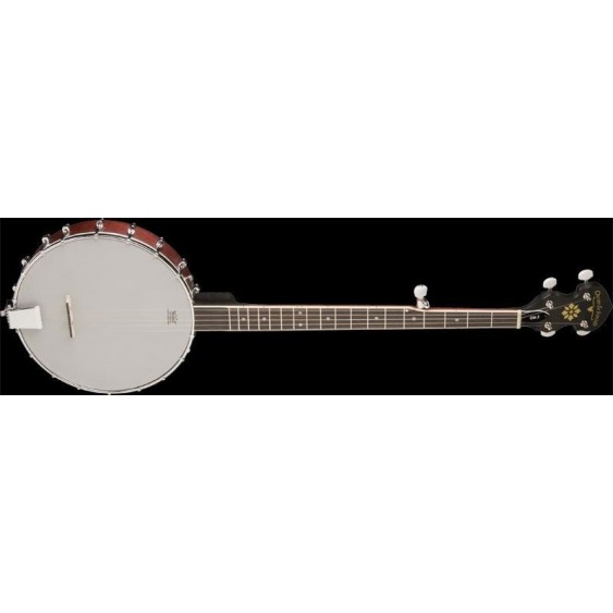 Oscar Schmidt Model OB3-O Open Back Banjo - 5 String, 18 Bracket clawhammer