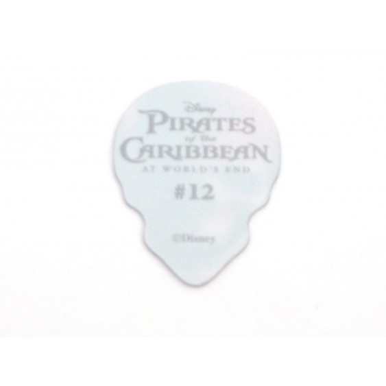 12 Magic Motion SKULL Guitar Picks Disney Pirates of the Carribean by Hot Picks