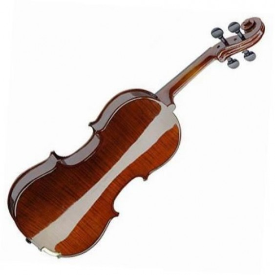 Stagg Model VN-4/4-SB Full Size Solid Maple Violin w/Case in a Sunburst Finish