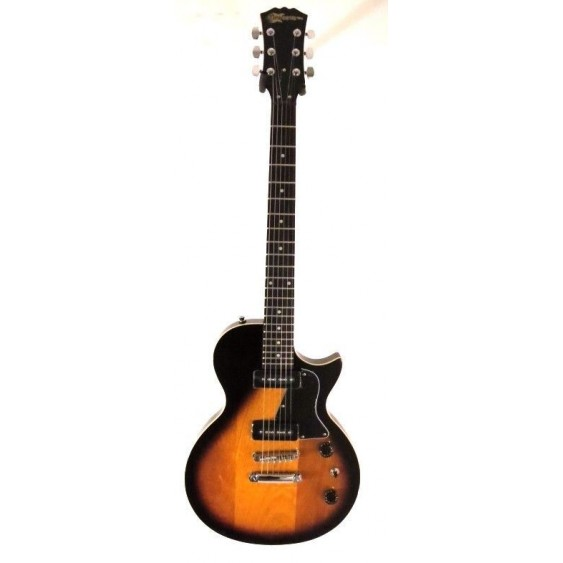 2017 Effin Guitars model LessP90/SB Brown Sunburst Vintage Style Electric Guitar