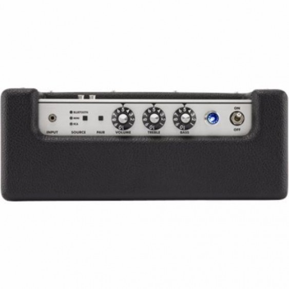 Fender Monterey Bluetooth Wireless Audio Speaker 120W Black and Silver Amp Style