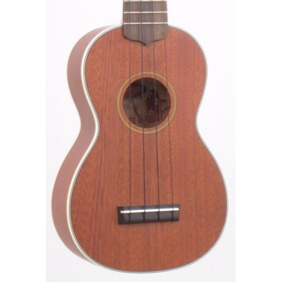 """AA"" Solid Mahogany Top Soprano Ukulele by Stagg Model US70S - Includes Gig Bag"