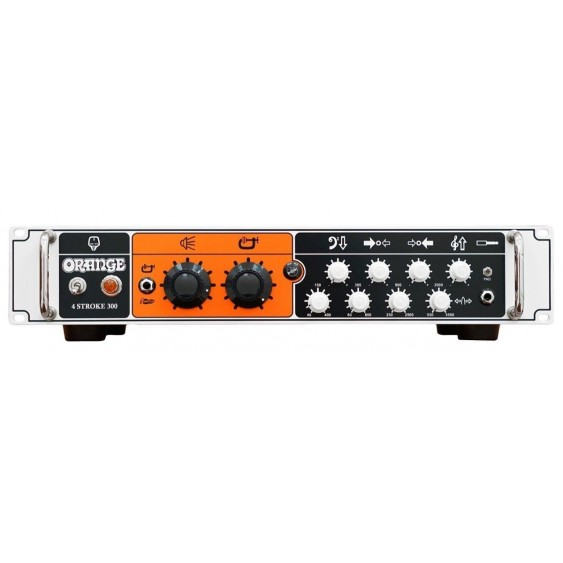 Orange 4 Stroke 300 - Rack-mount 300 Watt Solid State Bass Amplifier Head - NEW