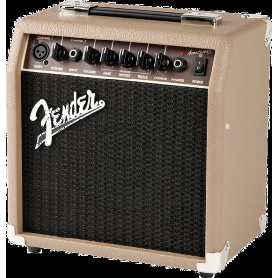Fender Acoustasonic 15 - 15 Watt Combo Acoustic Guitar Combo Amplifier