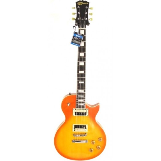 2016 Effin Guitars OldLess/HB Deluxe Honeyburst Vintage Style Electric Guitar